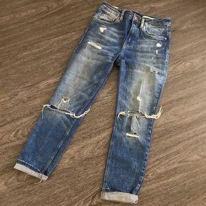 Zara The Tomboy Low Slouch Jeans